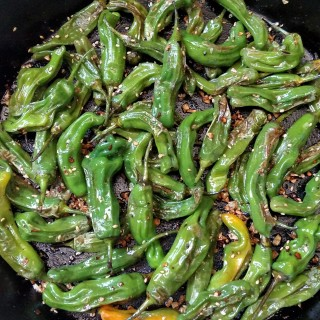 Asian Pan-Fried Shishito Peppers