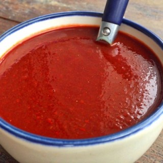 Guajillo Red Chile Salsa