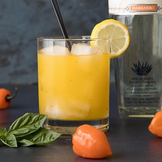 A Fiery Mango-Habanero Cocktail