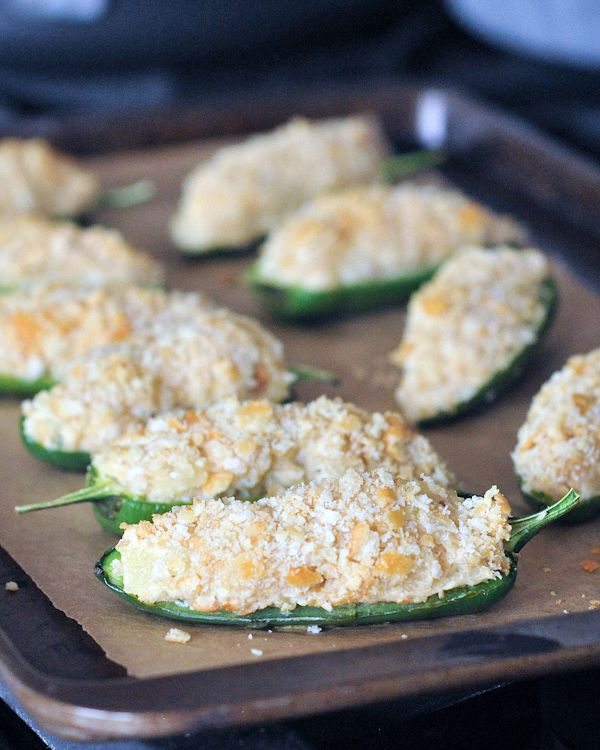 Sweet And Salty Pineapple Jalapeno Poppers