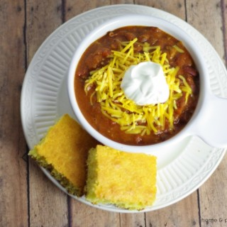 Fire Roasted Steak Chili