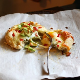 jalapeño popper breakfast pizza