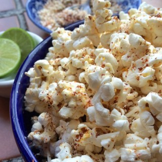 Chile-spiced Mexican popcorn