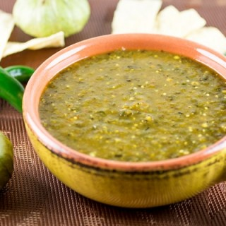 Homemade Green Enchilada Sauce