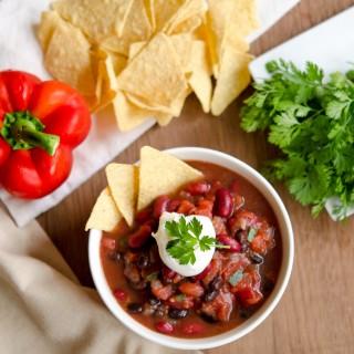 Vegan No-Alarm Chili