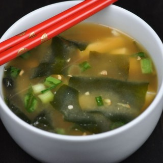 Quick and Easy Miso Soup with Tofu