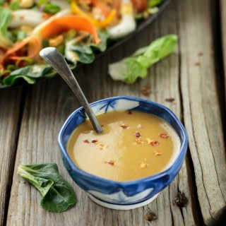Quick and Easy Spicy Asian Vinaigrette