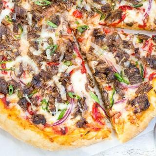 Manchego & Brisket NY Pizza