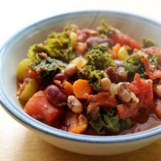 Comforting Veggie Bean Chili