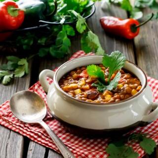 Super Boost Mexican Lentil Chili