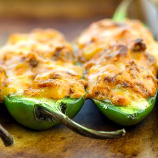 Stuffed Jalapenos with Chorizo