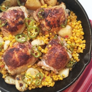 One-Pan Spicy Southwest Chicken