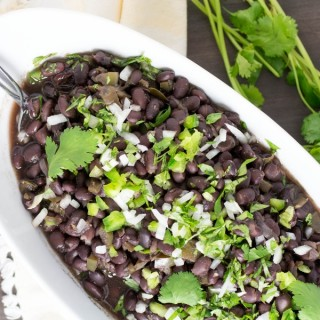 Pressure Cooker Cuban Black Beans