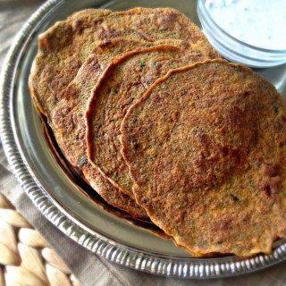 Methi Thepla (Fenugreek Flatbread)