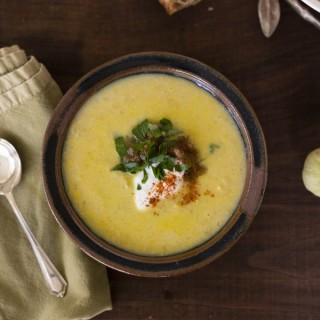 Green Chile Tomatillo Corn Chowder