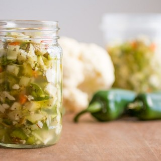 Homemade Chicago-Style Giardiniera