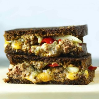 pickle pepper grilled cheese