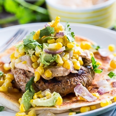 Tex Mex Turkey Burgers