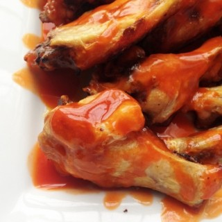 3 Ingredient Baked Buffalo Wings