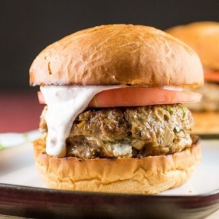 Jalapeno Popper Stuffed Turkey Burgers