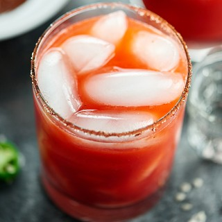 Strawberry Jalapeno Margarita