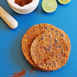 Chile lime corn tortillas