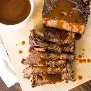 Braised Brisket with Ancho Gravy