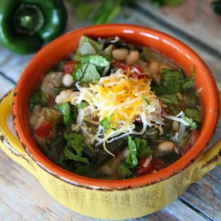 Slow Cooker Spicy Pork Green Chile Stew