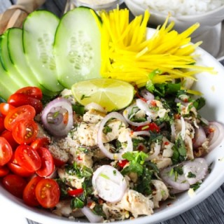 Lemongrass Thai Chicken Salad