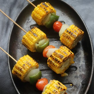 Corn On Cob Kebabs