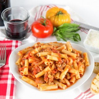 Sweet & Spicy Ziti with Sausage