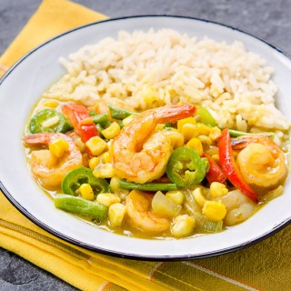 Thai Yellow Curry Shrimp